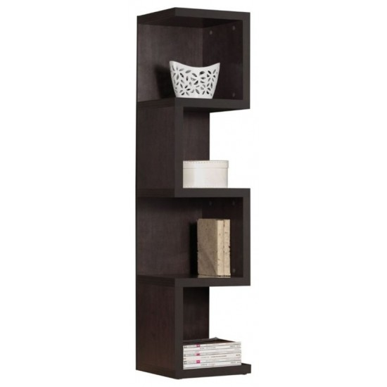 ACME Carmeno Bookcase - Large S Shelf, Espresso