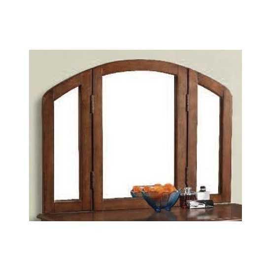 ACME Maren Vanity Mirror, Oak
