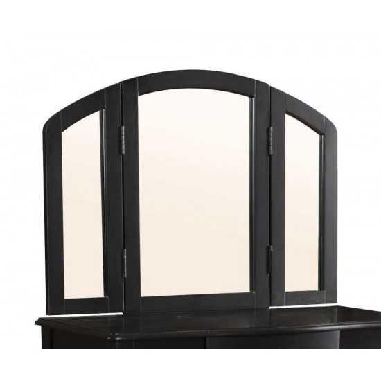 ACME Maren Vanity Mirror, Black