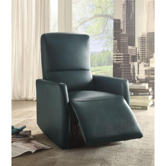 ACME Raff Recliner (Power Motion), Blue Leather-Aire