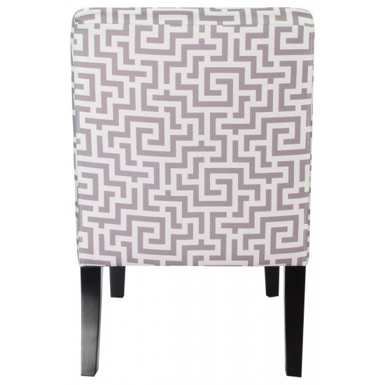 ACME Ollano Accent Chair, Pattern Fabric