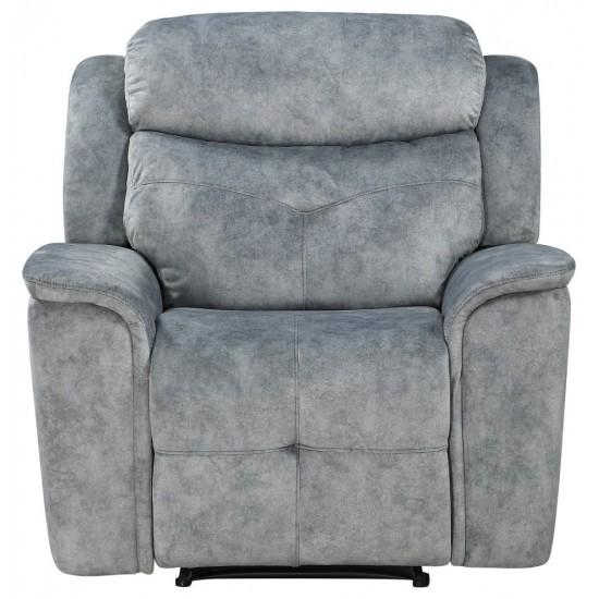 ACME Mariana Recliner, Silver Gray Fabric
