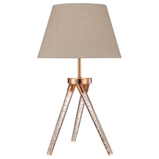 ACME Cici Table Lamp, Rose Gold