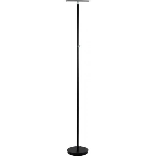 ACME Massey Floor Lamp, Black