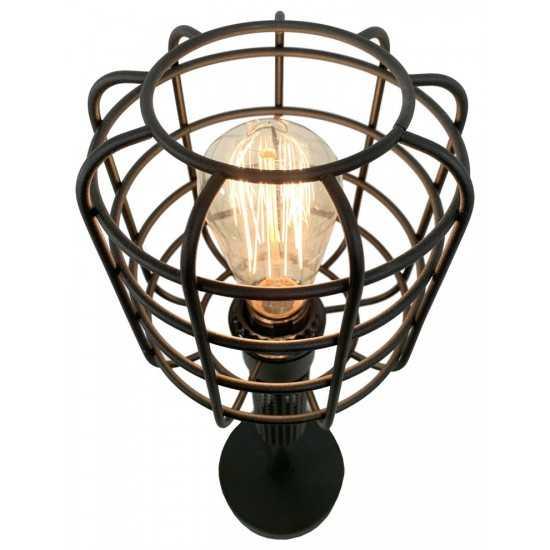 ACME Marek Table Lamp, Black