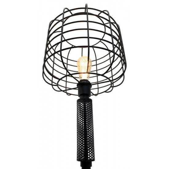 ACME Marek Floor Lamp, Black