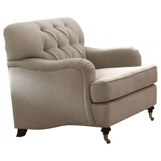 ACME Alianza Chair, Beige Fabric