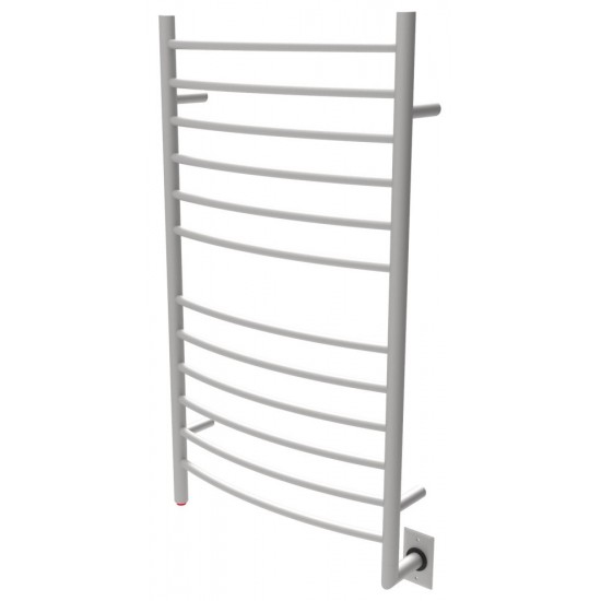 Radiant Large Hardwired Curved Heated Towel Rack