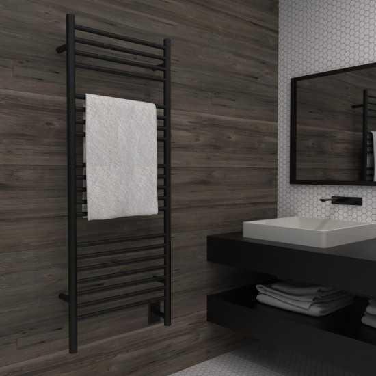 D Straight Heated Towel Rack