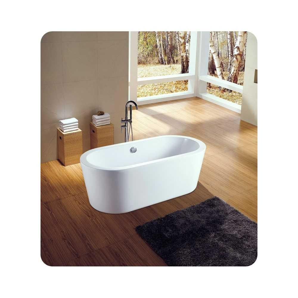 "Neptune AZ3266OS Amaze 66"" Freestanding Oval Bathroom Tub"
