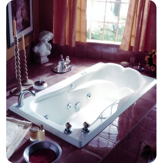"Neptune ME66 Melia 66"" Customizable Rectangular Bathroom Tub"