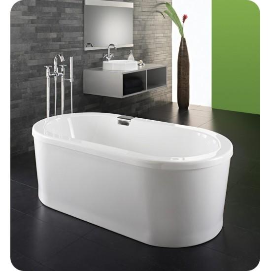 "Neptune RU3666 Ruby 66"" x 36"" Freestanding Customizable Oval Bathroom"