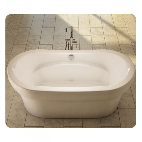 "Neptune REV3672F Revelation 72"" x 36"" Customizable Oval Freestanding Bathroom Tub"
