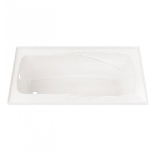 "Neptune E10.16812.4 Entrepreneur Velona 60"" x 32"" Customizable Alcove Soaker Bathtub"