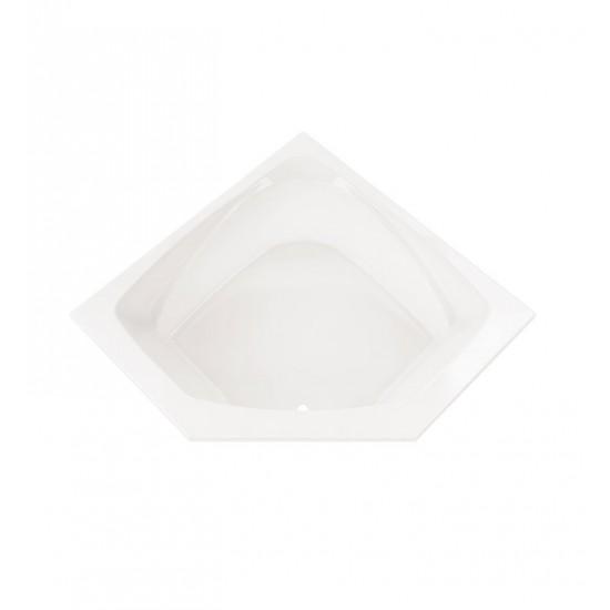 "Neptune E10.16654.0000 Entrepreneur Edora 54"" x 54"" Podium Customizable Soaker Bathtub"