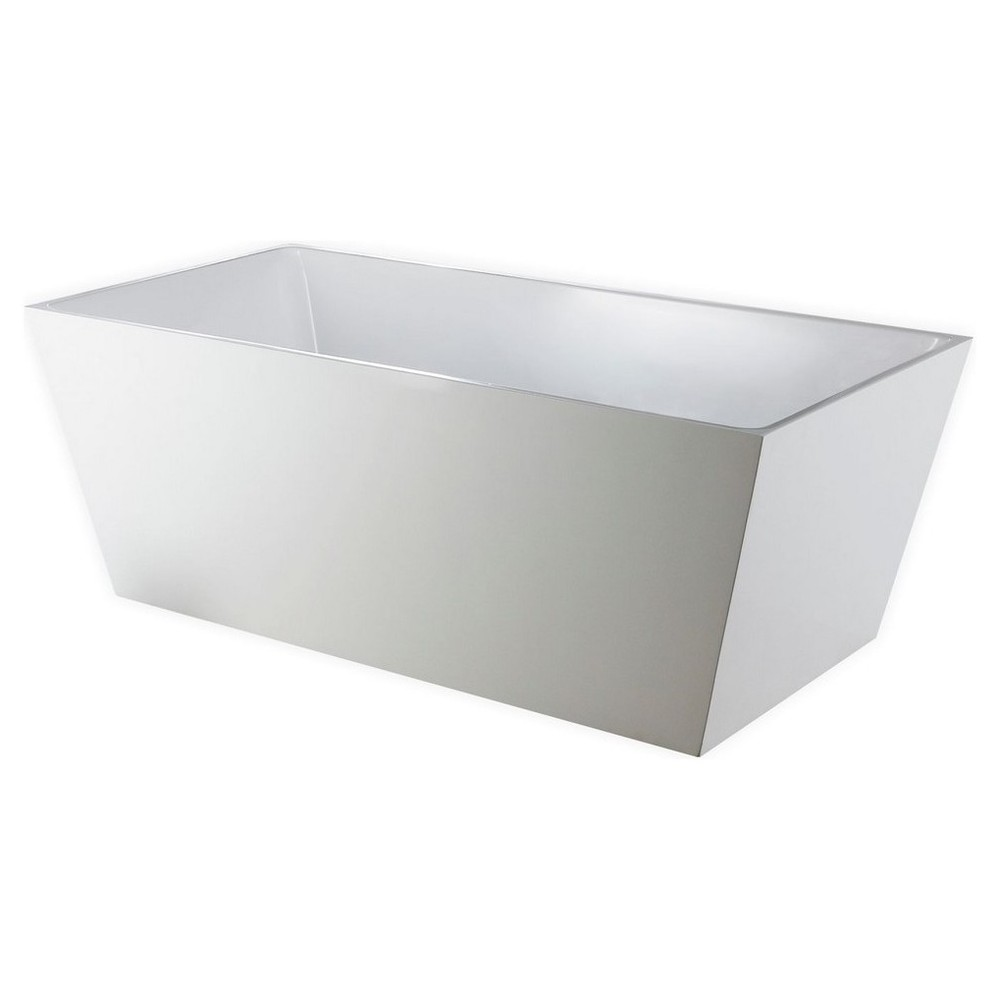 "Kube Squadra 59"" Free Standing Bathtub"