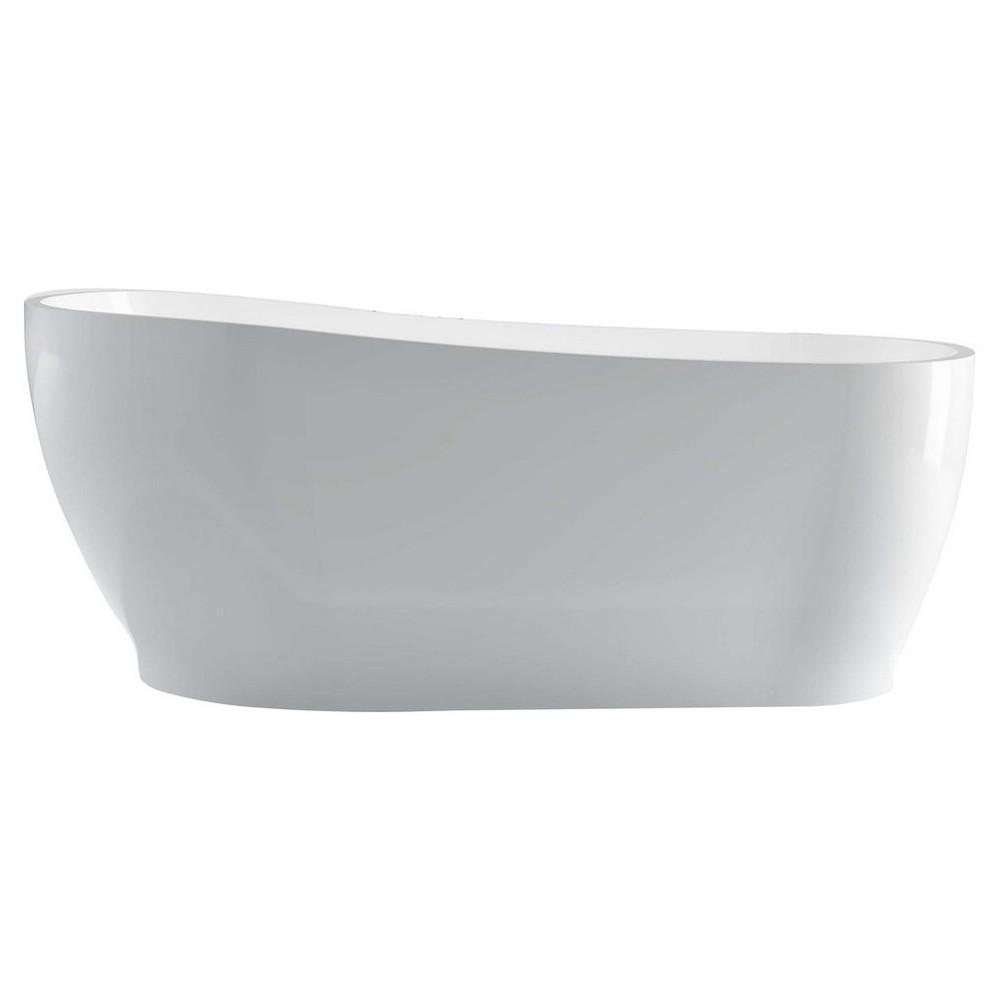 """Kube Kono 67"""" Free Standing Bathtub"""