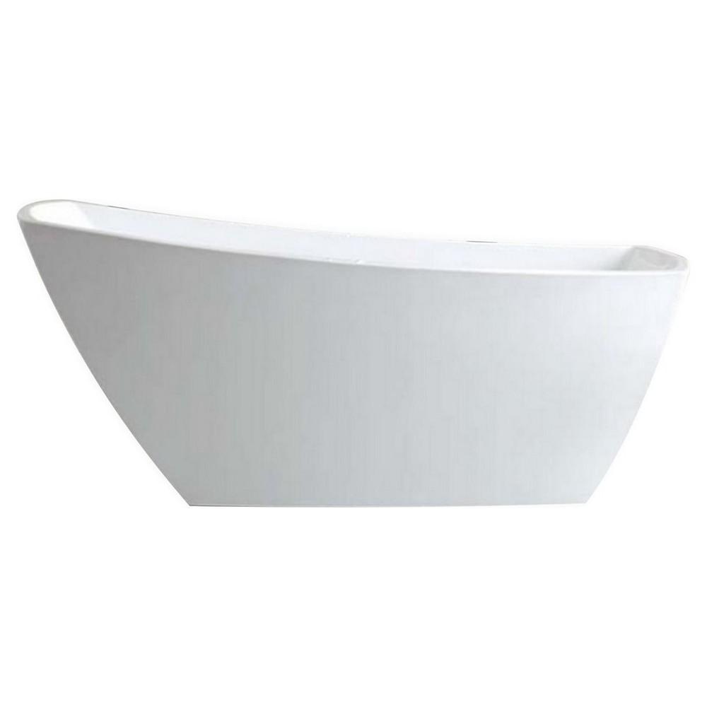 "Kube Solato 67"" Free Standing Bathtub"