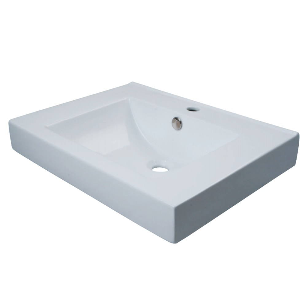 Fauceture  Mission Vessel Sink, White