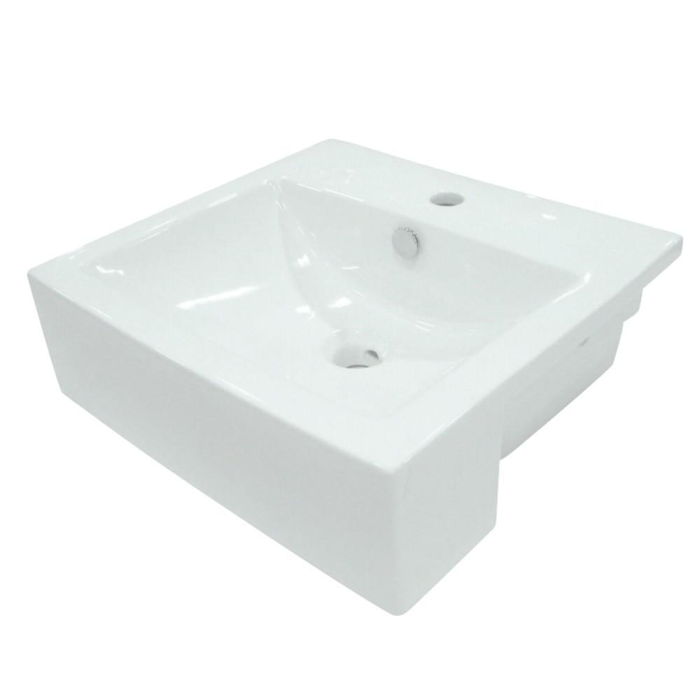Fauceture  Concord Vessel Sink, White