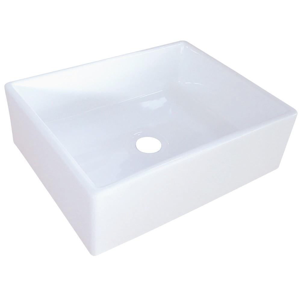 Fauceture  Elements Vessel Sink, White