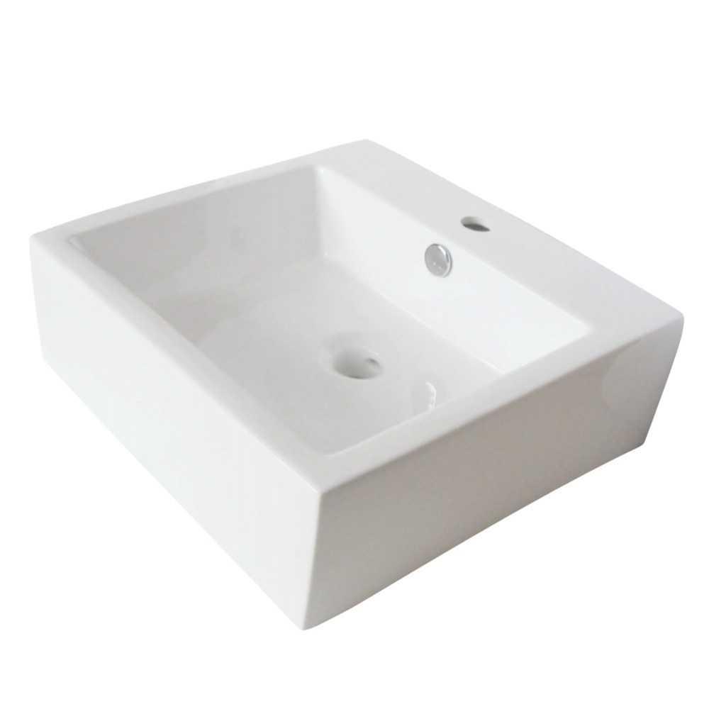 Fauceture  Sierra Vessel Sink, White
