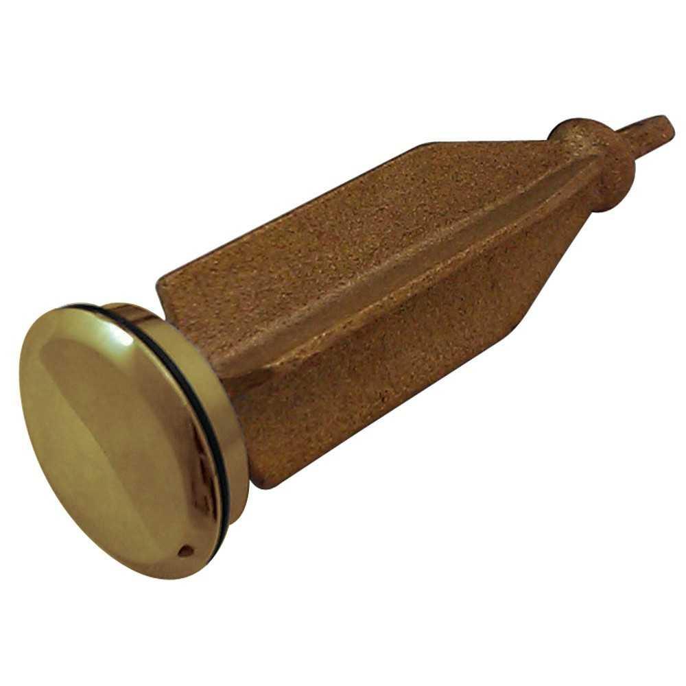 Kingston Brass  Pop-Up Plunger For KS1162, Polished Brass
