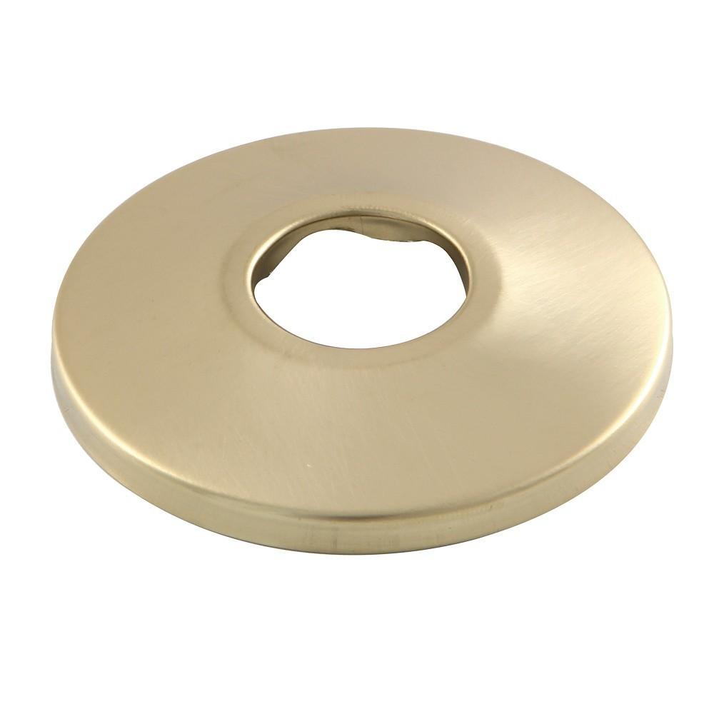 "Kingston Brass  Made To Match 1/2"" FIP Brass Flange, Brushed Brass"