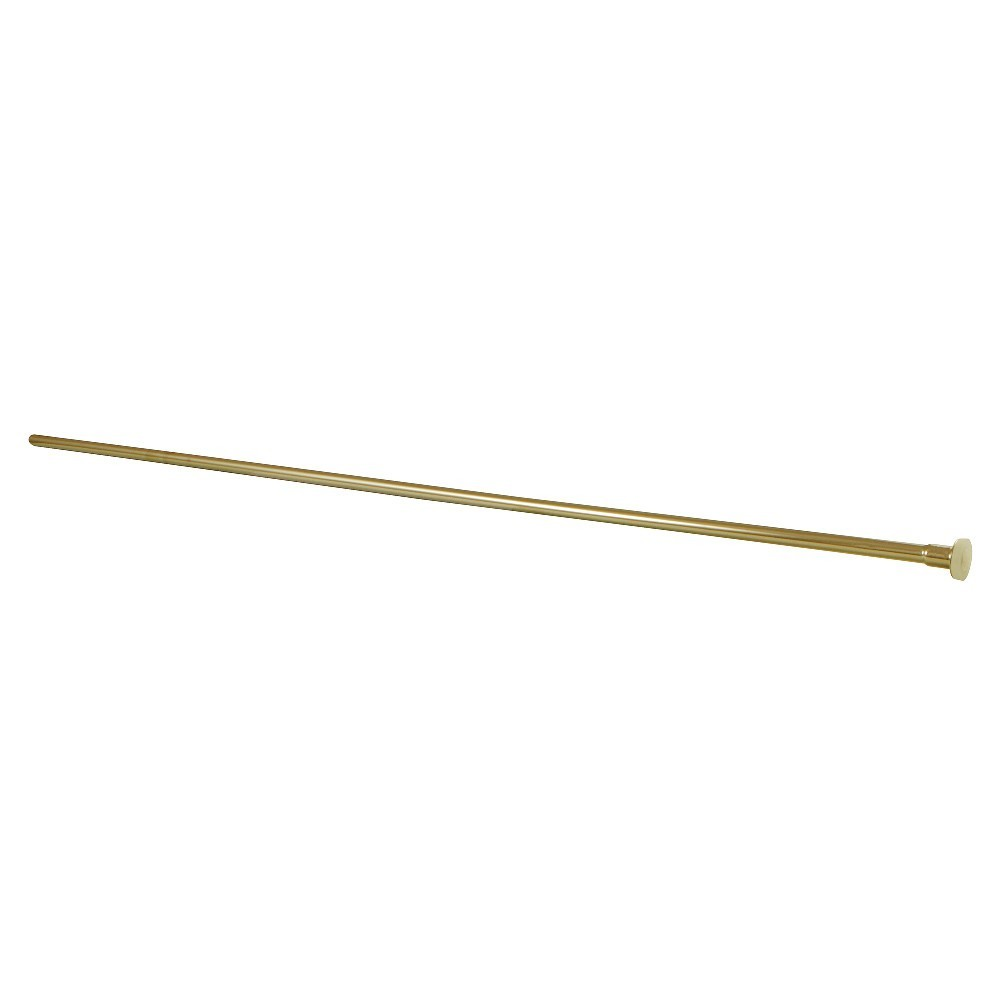 Showerscape  Complement 20-Inch X 3/8-Inch Diameter Flat Closet Supply, Brushed Brass