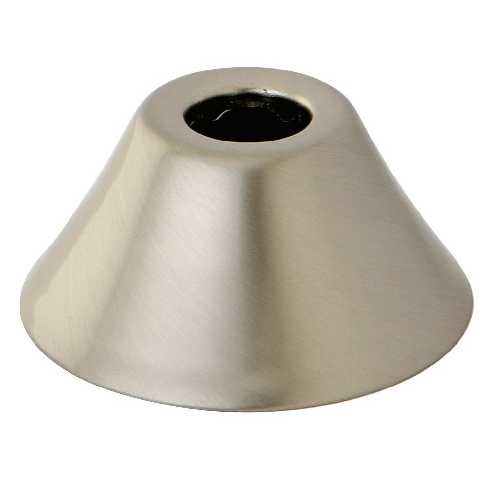 """Kingston Brass  Made To Match 5/8"""" O.D. Compression Bell Flange, Brushed Nickel"""