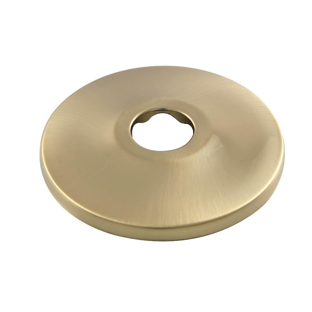 """Kingston Brass  Made To Match 5/8"""" OD Brass Flange, Brushed Brass"""