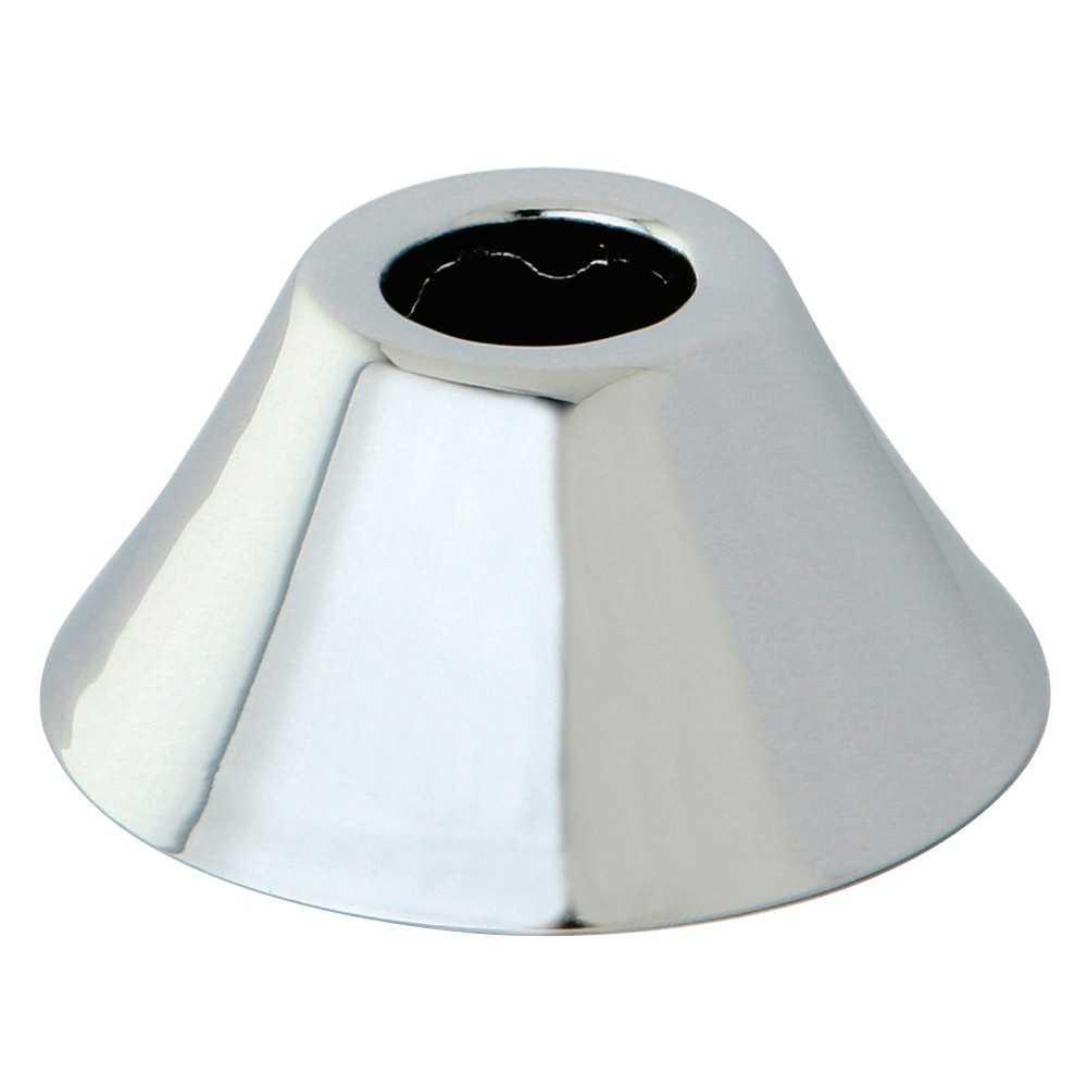 """Kingston Brass  11/16"""" O.D. Compression Bell Flange, Polished Chrome"""