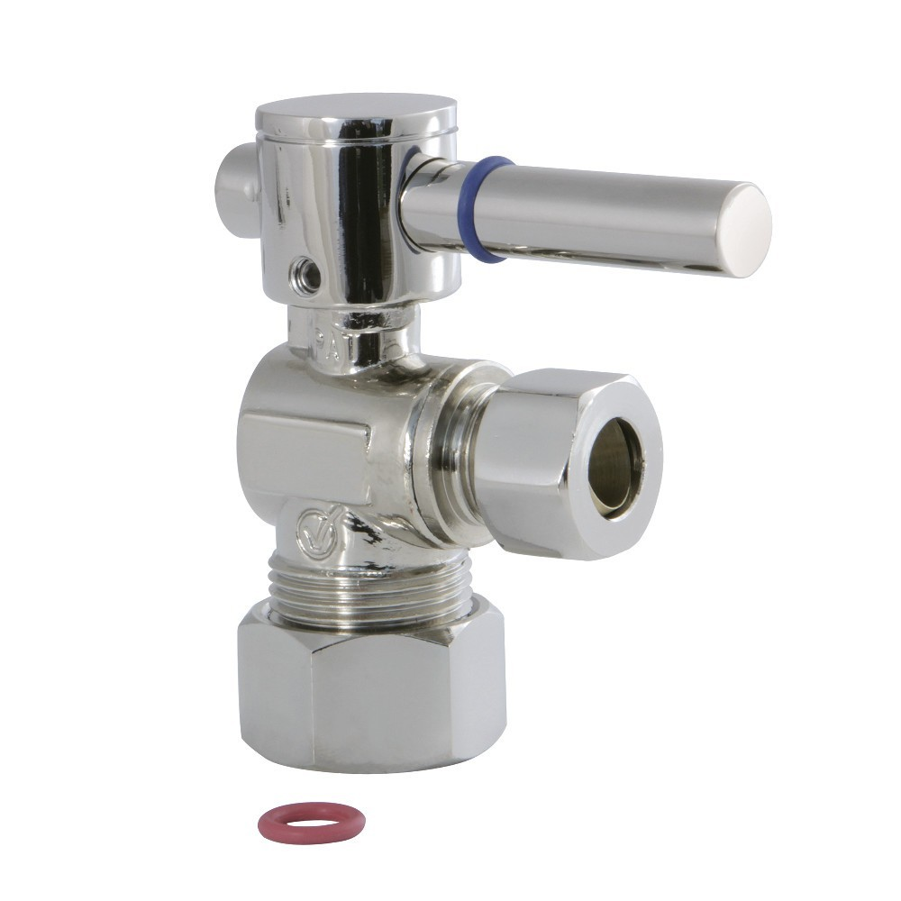 Fauceture  1/4 Turn Valves (5/8-In X 3/8-In OD Comp), Polished Nickel