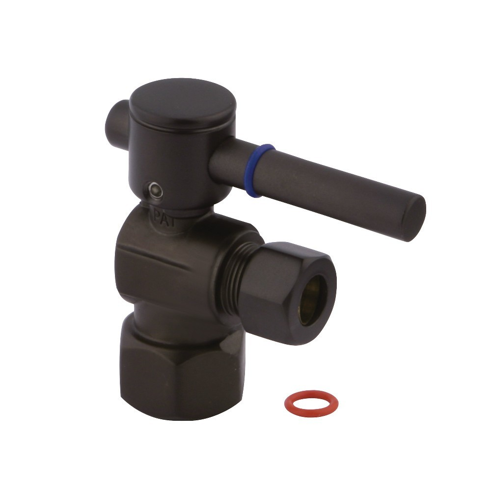 Fauceture  Quarter Turn Valves (1/2-Inch FIP X 3/8-Inch O.D. Compression), Oil Rubbed Bronze