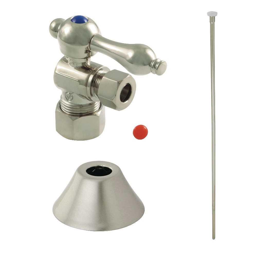 Kingston Brass  Traditional Plumbing Toilet Trim Kit, Brushed Nickel