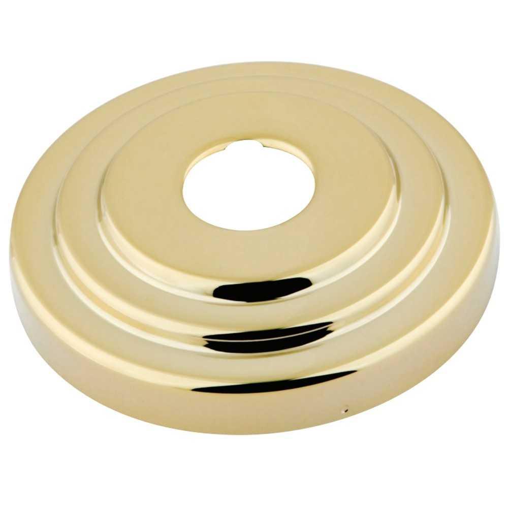 "Kingston Brass  Made to Match 3/4"" Escutcheon, Polished Brass"