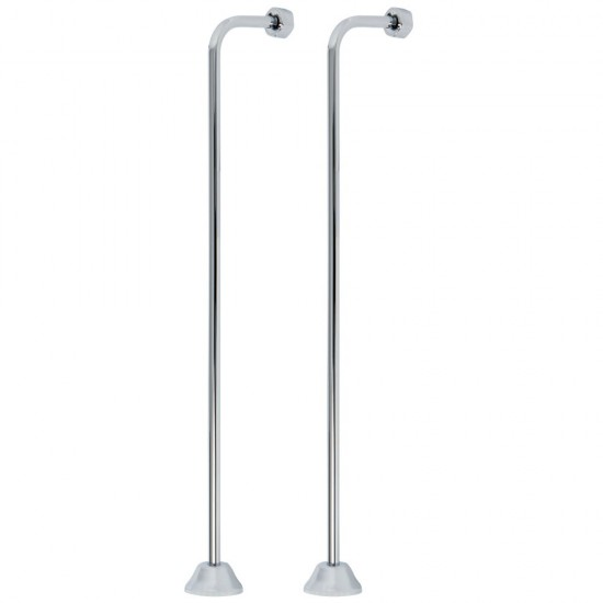 ALFI Brand AB2032 Commercial Spring Kitchen Faucet with Pull Down Shower Spray in Brushed Stainless Steel