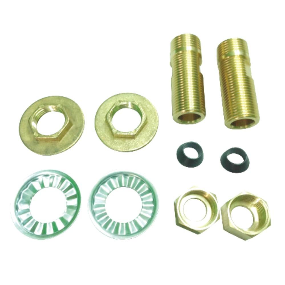 """Aqua Eden  1/2"""" IPS Brass Adapter, Brass"""
