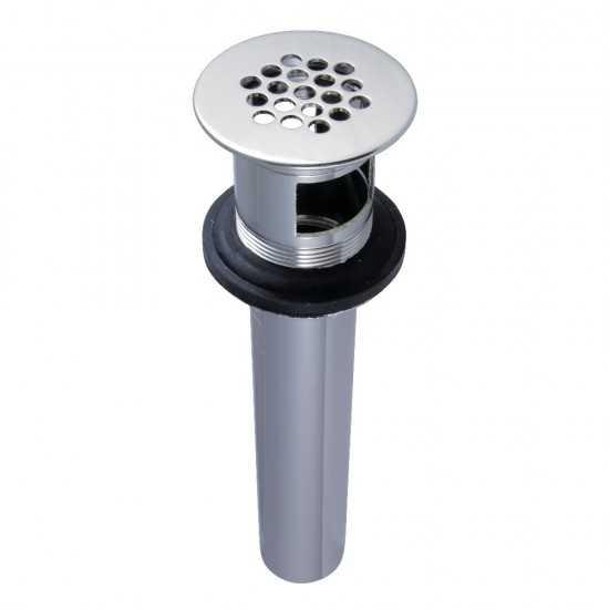 Houzer 2522-9BS3-1 Self Rimming 3 Hole Single Basin Kitchen Sink
