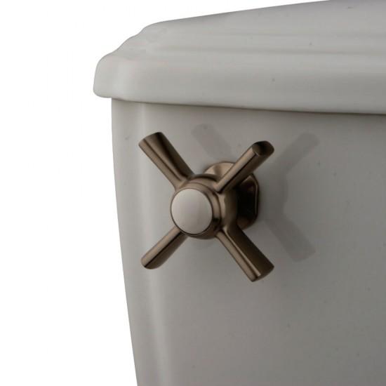 Houzer HW-CLA2RF Undermount Round Hand Hammered Copper Bathroom Sink in Pewter Finish
