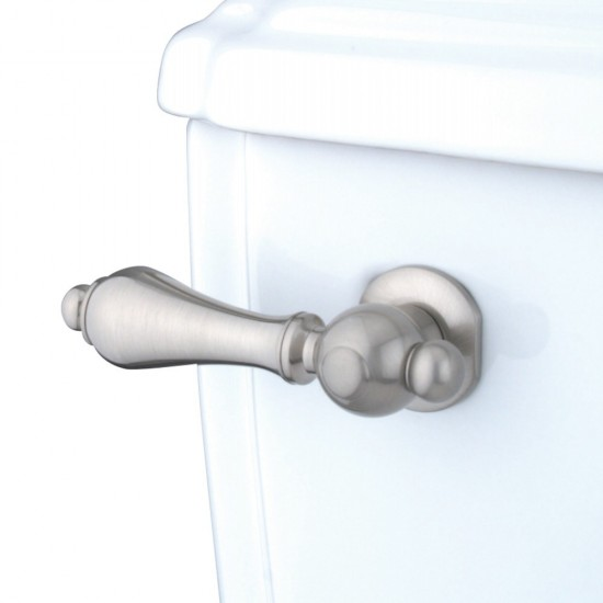 Kingston Brass  Restoration Toilet Tank Lever, Brushed Nickel