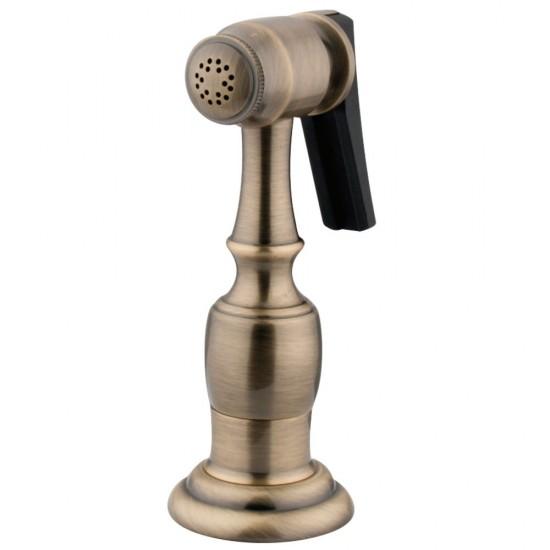 Kingston Brass  Kitchen Faucet Side Sprayer, Antique Brass