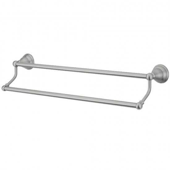 Kingston Brass  Royale 18-Inch Dual Towel Bar, Brushed Nickel