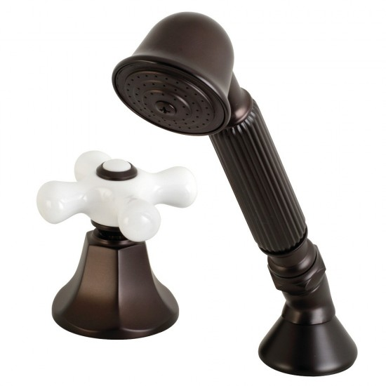 Kingston Brass  Transfer Valve Set for Roman Tub Faucet, Oil Rubbed Bronze