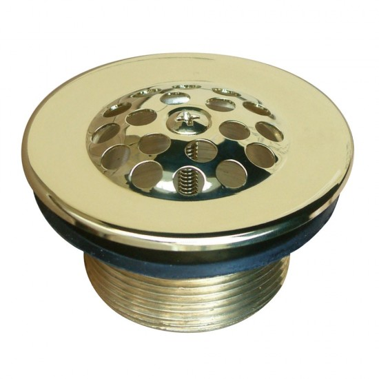 Kingston Brass  Tub Drain Strainer and Grid, Polished Brass