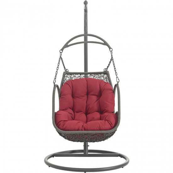 Arbor Outdoor Patio Wood Swing Chair