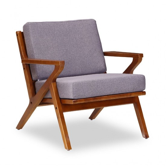 MartelleChair in Grey and Amber