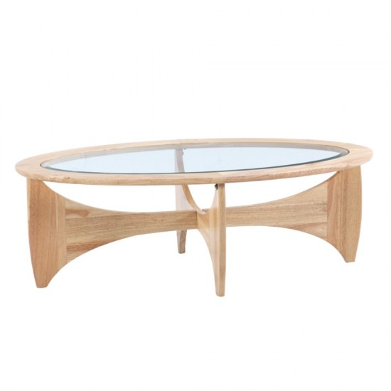 Fine Mod Imports Opec Coffee Table, Natural