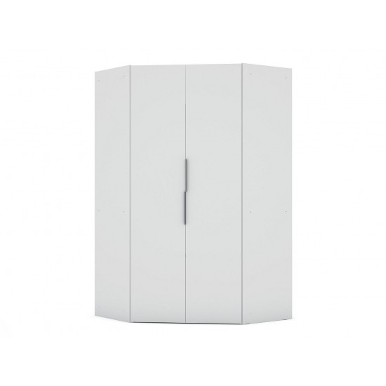Mulberry 2.0 Corner Wardrobe Closet in White