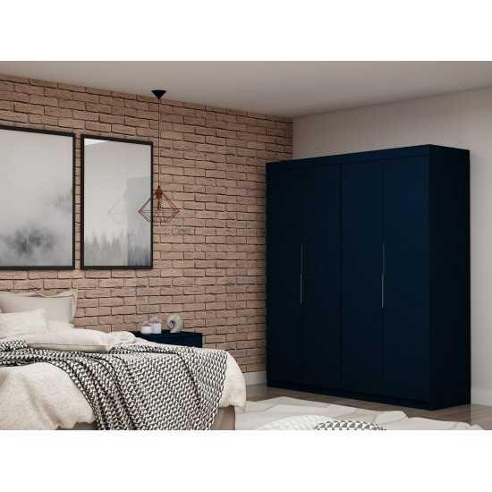 Mulberry 2.0 Wardrobe Closet - Set of 2 in Tatiana Midnight Blue